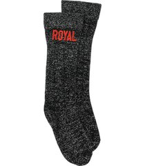 dolce & gabbana royal socks - black