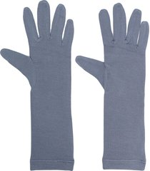 styland mid-length gloves - blue