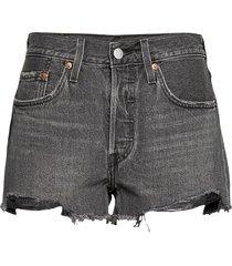 501 original short eat your wo shorts denim shorts svart levi´s women