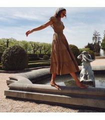 danielle bernstein solid poplin midi dress, created for macy's