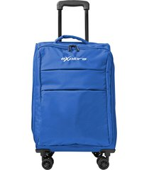 maleta ultraliviana tipo cabina barcelona azul - explora