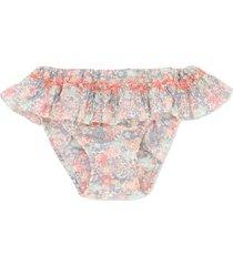 bonpoint palmier bikini bottoms - neutrals