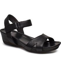 micro shoes summer shoes flat sandals svart camper