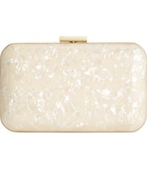 inc teresa mother of pearl clutch, created for macy's