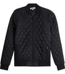 chaqueta acolchada hombre rombo color negro,talla l