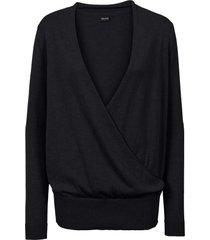 maglione incrociato (nero) - bodyflirt