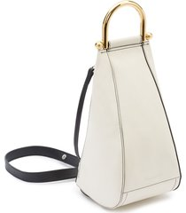 jw anderson small wedge shoulder bag - white