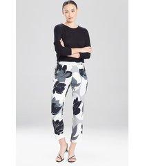 natori lotus slim pants, women's, size 8
