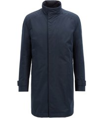 boss men's regular/classic-fit water-repellent coat