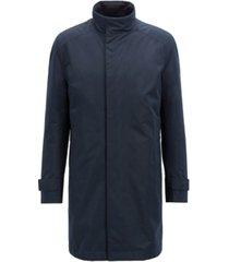 boss men's regular/classic-fit water-repellent coat