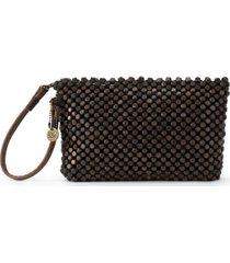 the sak montara wood beaded wristlet