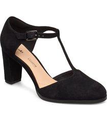 kaylin85 tbar shoes heels pumps classic svart clarks