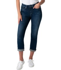 silver jeans co. avery straight leg cropped janes