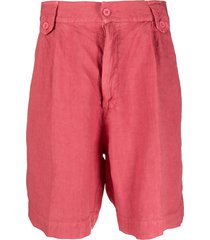 costumein high-waisted bermuda shorts - pink