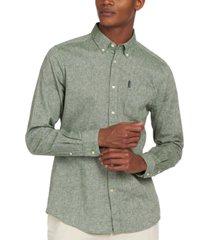 barbour men's textured shirt