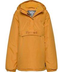 hmlcozy jacket parka-jas geel hummel