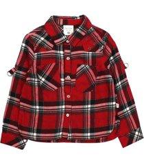 blusa london rock rojo ficcus