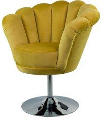 fotel żółcień cytrynowa tapicerowany fu-100
