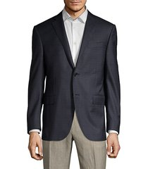 classic-fit virgin wool check sport coat
