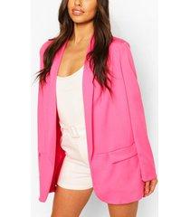 getailleerde blazer, roze