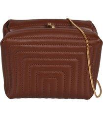 jil sander goji quilted shoulder bag