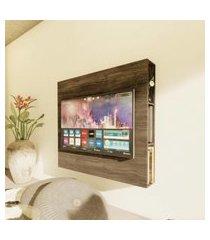 """painel de tv de até 55"""" suspenso carvalho lilies móveis"""