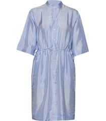 ornella jurk knielengte blauw tiger of sweden