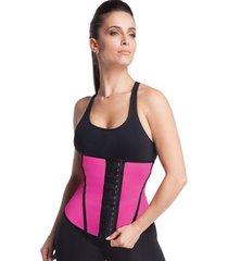 cinta modeladora para academia waist trainer esbelt