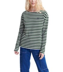 superdry blair stripe long-sleeved t-shirt