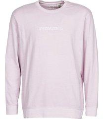 t-shirt lange mouw levis linear garment dye lavender frost