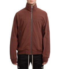 rick owens francy zip-up sweatshirt