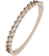 givenchy silk crystal bangle bracelet