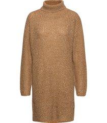 dhoak knit rollneck turtleneck polotröja brun denim hunter