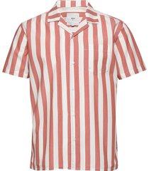 emanuel kortärmad skjorta röd minimum