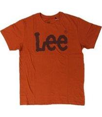 camiseta lee malha penteada 5009l manga curta masculina - masculino