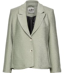 utopio blazer blazers casual blazers groen just female