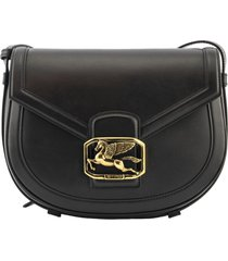 pegaso crossbody bag black