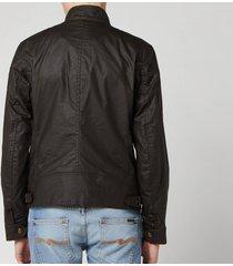 belstaff men's racemaster jacket - faded olive - it 52/xl