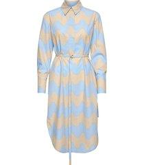 kuuluminen pikku lokki dress jurk knielengte blauw marimekko