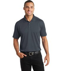 port authority k569 diamond jacquard polo shirt - graphite