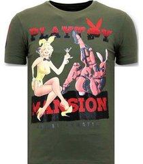 t-shirt korte mouw lf stoere the playtoy mansion