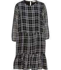 jeanneiw dress jurk knielengte zwart inwear