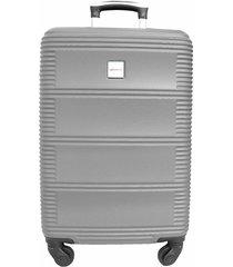 maleta de cabina california gris