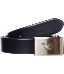 emporio armani open belt