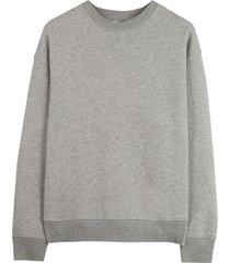 closed grijze sweater met print
