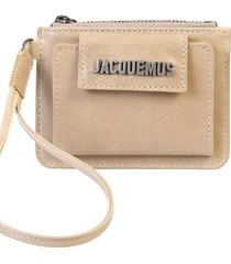 jacquemus branded wallet