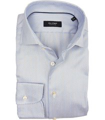 olymp signature shirt blauw print