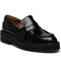 shoes a1248 loafers låga skor svart billi bi