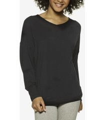 felina essentials modal boyfriend lounge sweatshirt