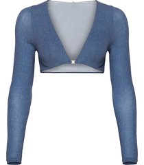 taylor bra lingerie bras & tops soft bras blå wolford